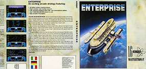 The cassette inlay for Enterprise from Mastertronic.