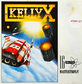 The packaging for KellyX complete with logo